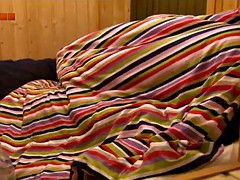 VV7 Big Brother Hungary-Dennis fingers Fanni in sauna
