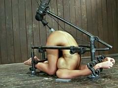 BDSM Bondage And Fucking Machine by Cezar73