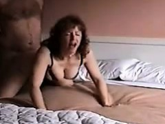 Cuckold Husband Stocks Fat Spouse with Buddy