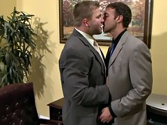 rocco reed sits in the office Heads penis