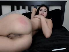 Latina Rubia Solo Masturbation