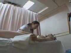 Japanese babes massage