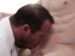 Bear sucks mormons cock