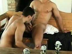 Village stud comes into homosexual paradise