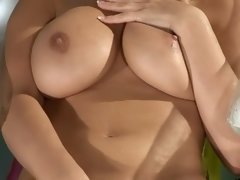 simella busty pool masturbater