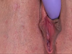classy tramp in sexy lingerie christina cinn plays with vibrator