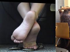 Candid feet #167