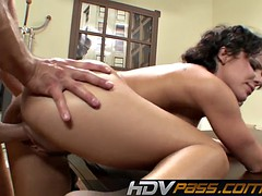 HDVPass Luscious Babe Katie St Ives Seduces Lucky Guy