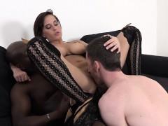 Girlfriend Anal Sex she wants Interracial ass hardcore