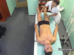 Patient got massage and good fuck with nurse