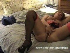 Home Orgasm of Vanessa 45 years Eager mom