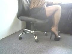 upskirt me in high heels
