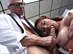 madison fox applied her oral skills to his meaty dick