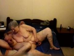 My 74 old granny BELGIUM Hidden cam