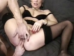 fist and plus group-fuck for matures