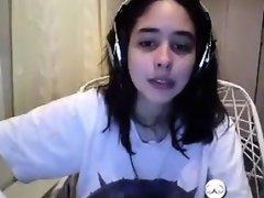 Brunette brune, Européenne, Solo, Webcam
