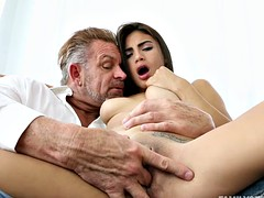 Michelle Martinez take two cocks at once
