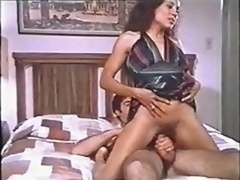 Retro Asiatic Backdoor Eager mom