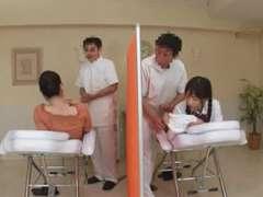 Asiatique, Japonaise, Massage