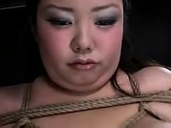 Japanische BDSM SSBBW fisted und spielte Juria
