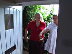 Spanked by Neighbour