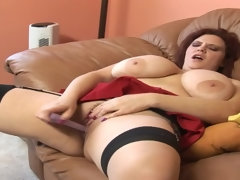 Sbbw With Huge Juggs Gets Her Anal Sex Cavi - sodomy