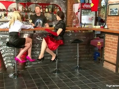 Bartender Gets The FemDom Surprise Of His Life