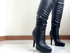 boots domination and wrecked Orgasm. POV.